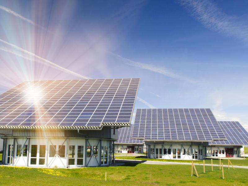 Startseite Solarpanels